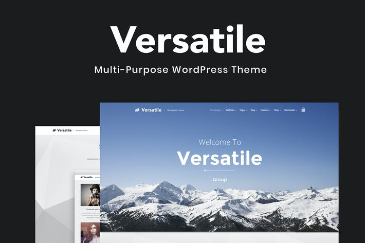 Thumbnail for Versatile - Multi-purpose WordPress Theme