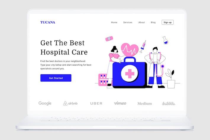 Thumbnail for Hospital care