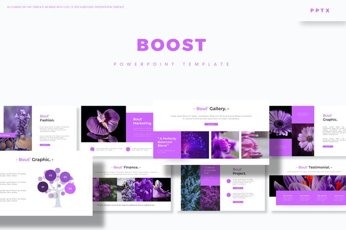 Thumbnail for Boost - Powerpoint Template