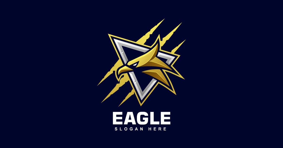 Download Eagle Head Sports and E-sports Style Logo by ivan_artnivora