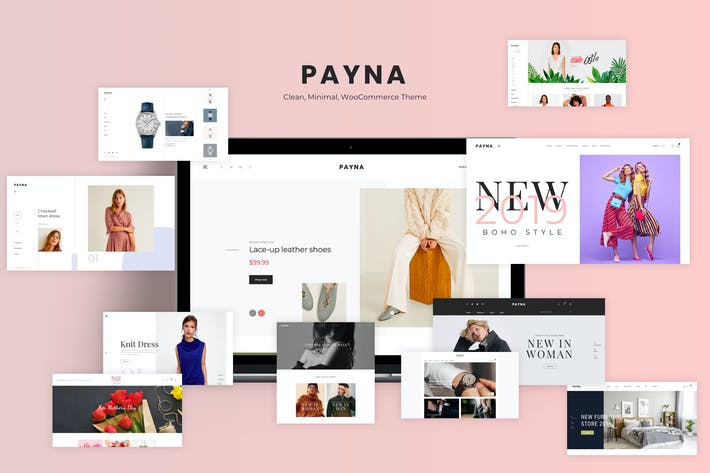 Thumbnail for Payna - Sauber, Minimal WooCommerce Thema