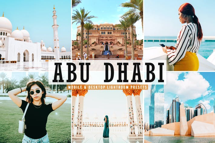 Thumbnail for Abu Dhabi Mobile & Desktop Lightroom Presets