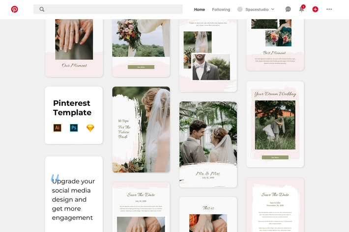 Thumbnail for Wedding Template