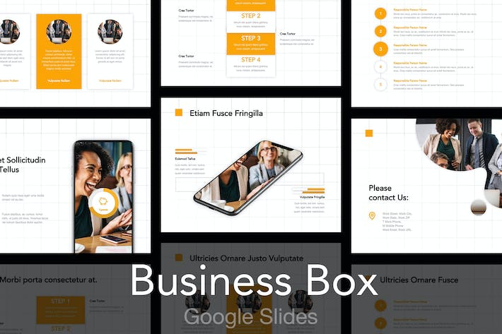 Thumbnail for Business Box Google Slides Template
