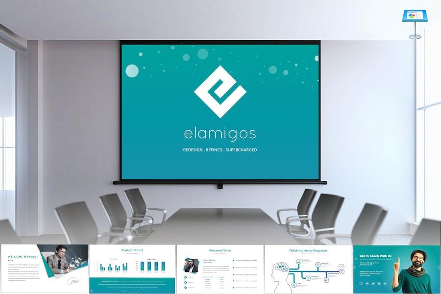 Elamigos Keynote Template