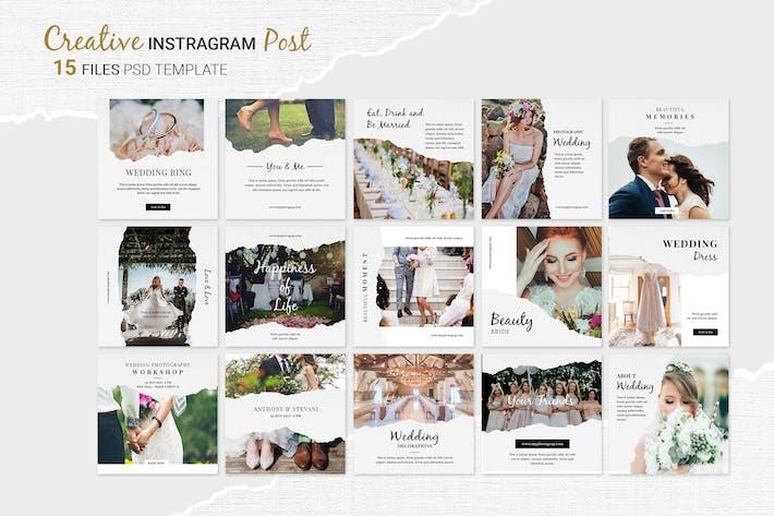Thumbnail for Wedding Instagram Post