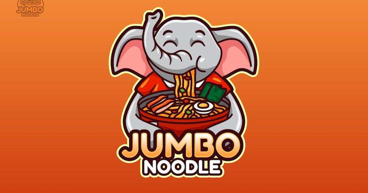 Download JUMBO - Mascot Logo by aqrstudio