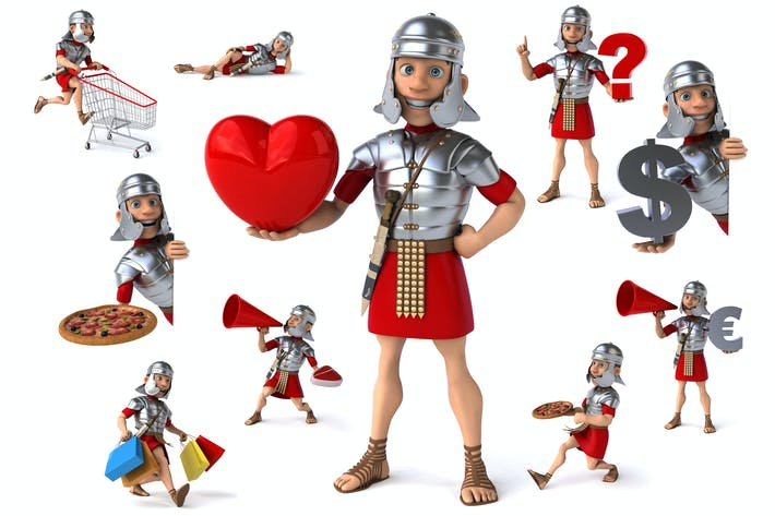 Thumbnail for 10 fun Roman soldiers !