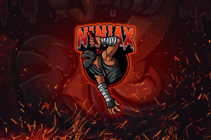 Thumbnail for Ninja  - Esport & Mascot Logo YR
