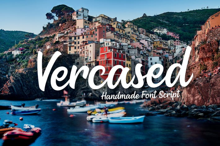 Thumbnail for Versaced - Handmade Font