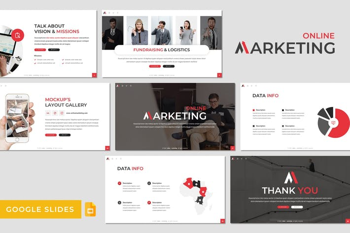Thumbnail for Marketing - Business Google Slides Template