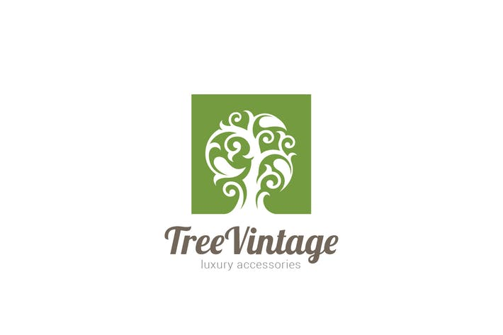 Thumbnail for Logo Tree Vintage