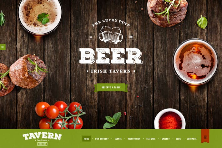 Thumbnail for Tavern | Pub & Brewery WordPress Theme