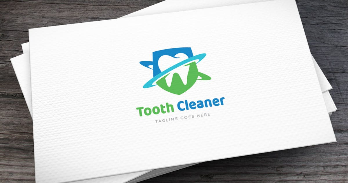 Download Tooth Cleaner Logo Template by empativo