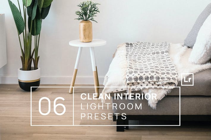 Thumbnail for 6 Clean Interior Lightroom Presets