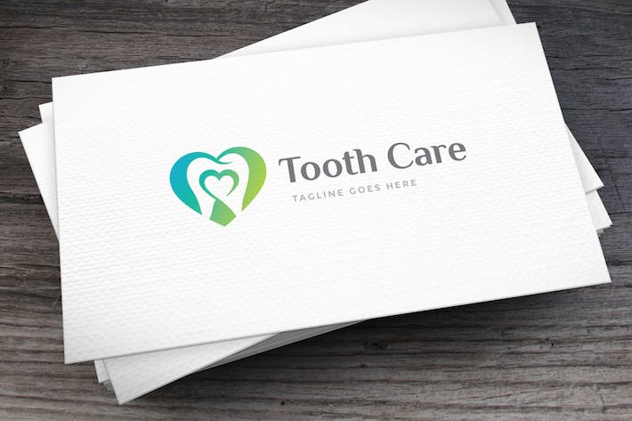 Thumbnail for Tooth Care Logo Template