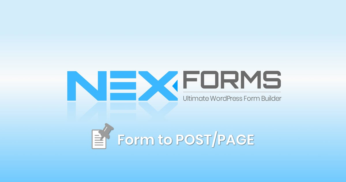 Download NEX-Forms - Form to Post/Page Add-on by Basix