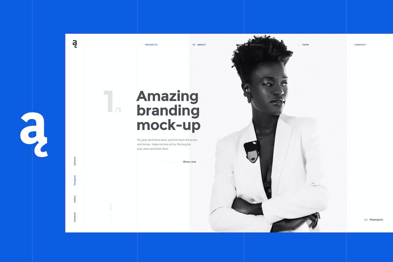 Atail - Unique Portfolio Template
