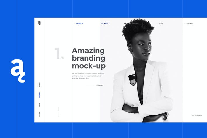 Thumbnail for Atail – Unique Portfolio Template