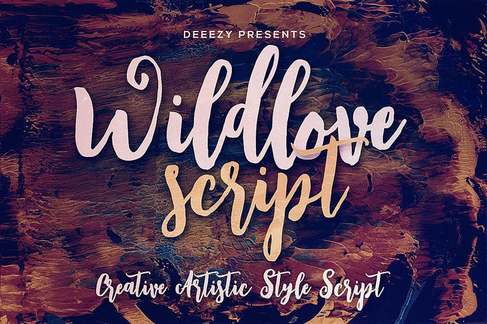 Thumbnail for Wildlove Script Font