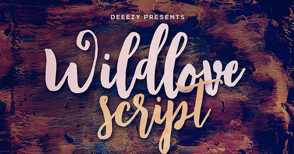 Download Wildlove Script Font by cruzine