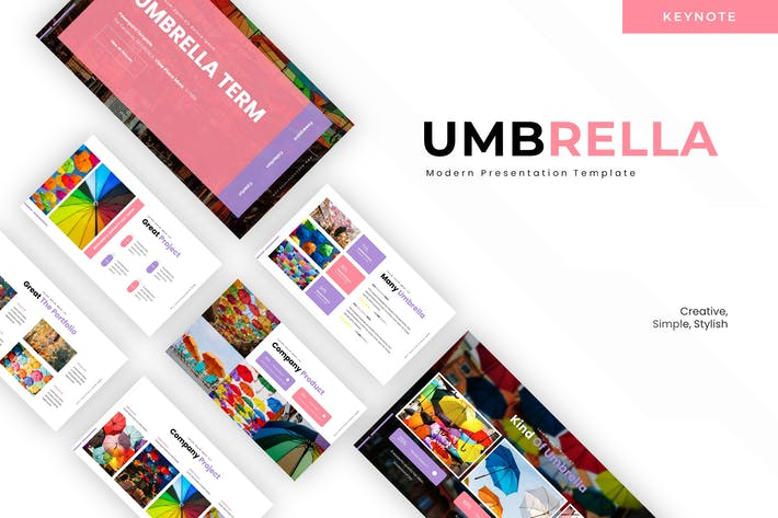 Thumbnail for Umbrella Term- Keynote Template