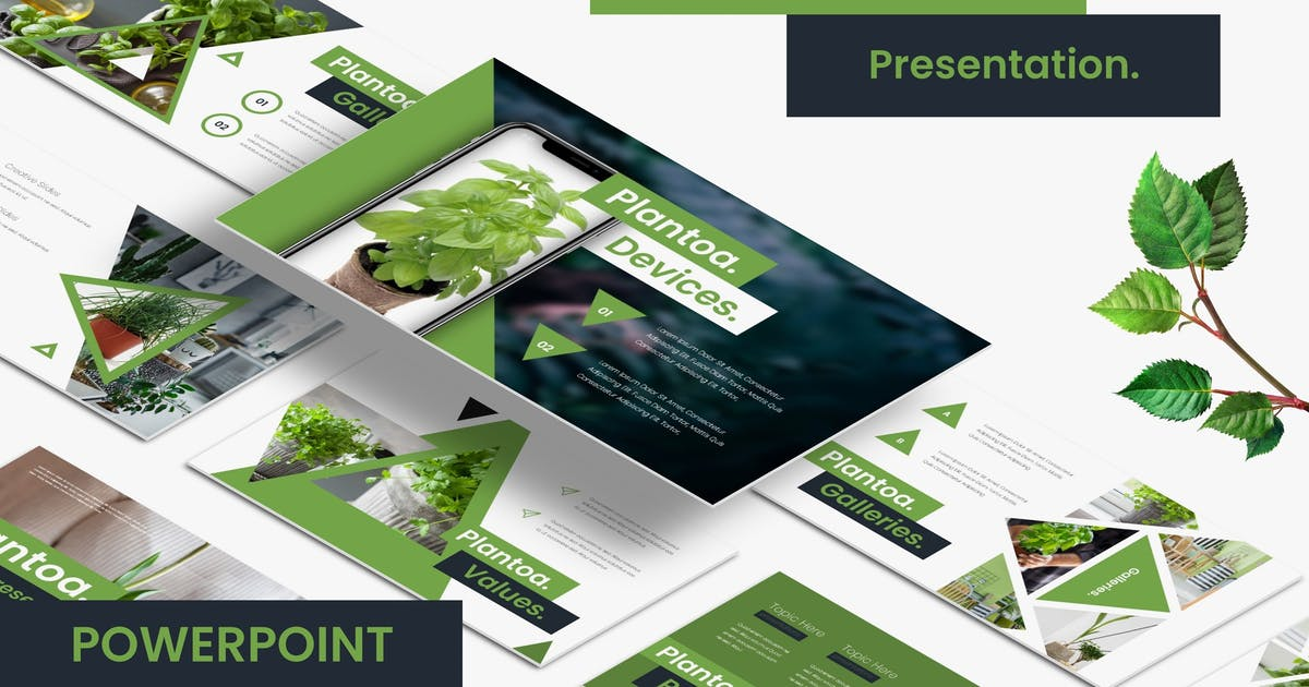 Download Plantoa - Powerpoint Template by vincentllora