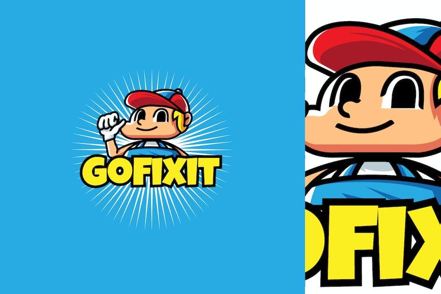 Fixer - Mascot & Esport Logo