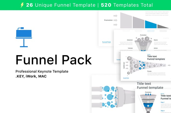 Thumbnail for Funnel Pack for Keynote
