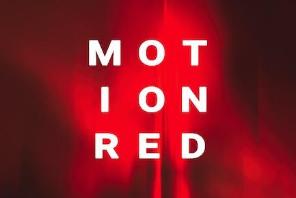 Fondos rojo de Movimiento
