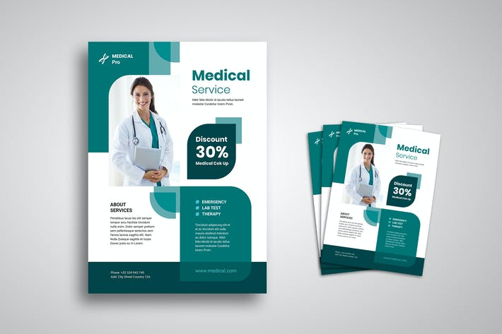 Thumbnail for Medical Flyer Promo Template