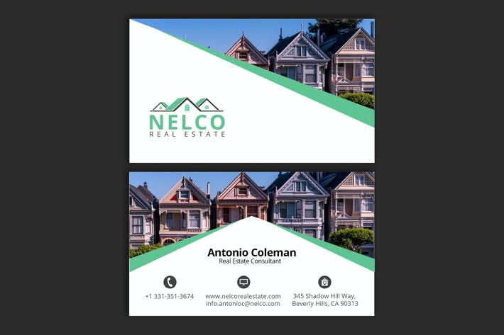 Thumbnail for Real Estate Business Card