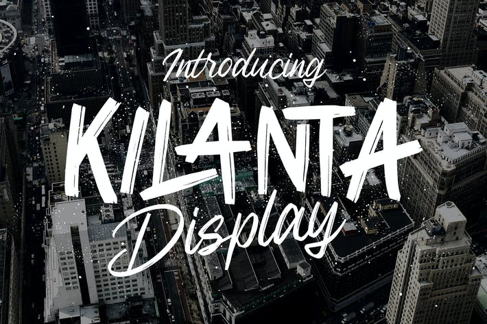 Thumbnail for Kilanta Display - Font Duo