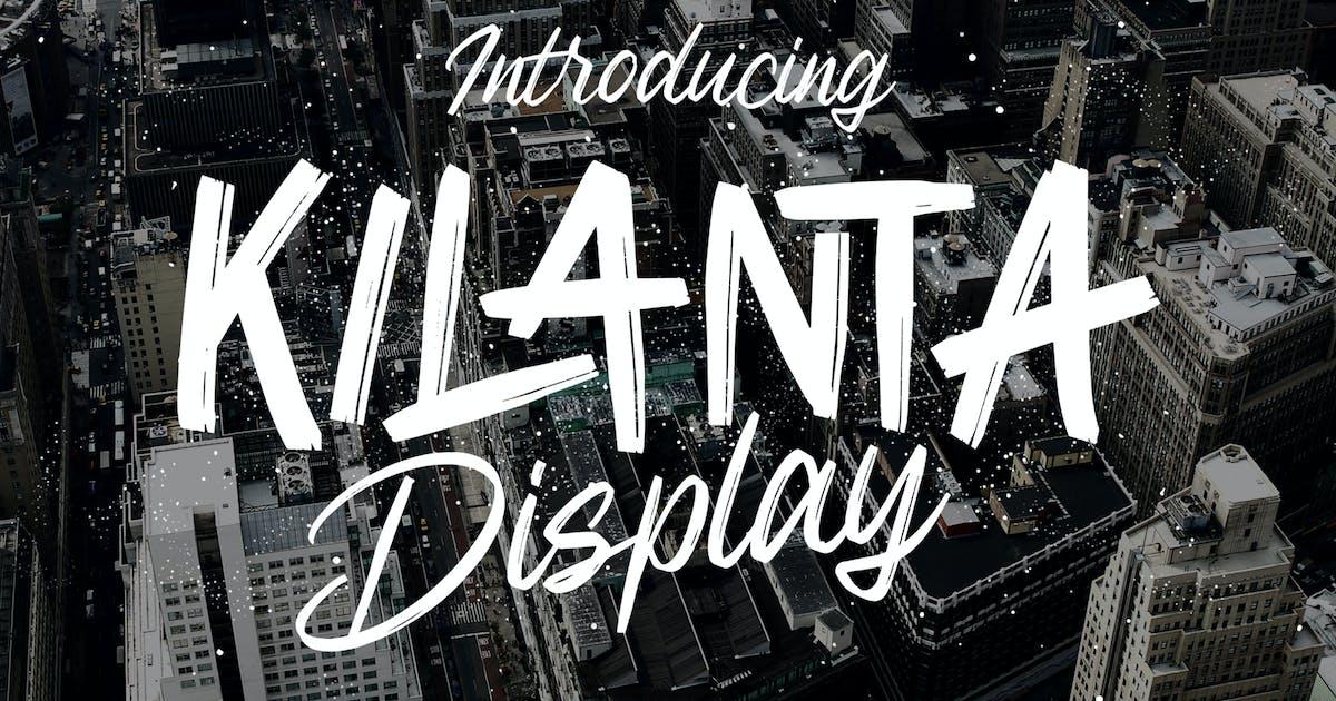 Download Kilanta Display - Font Duo by graptailtype