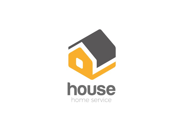 Thumbnail for Logo House isometric abstract Household services