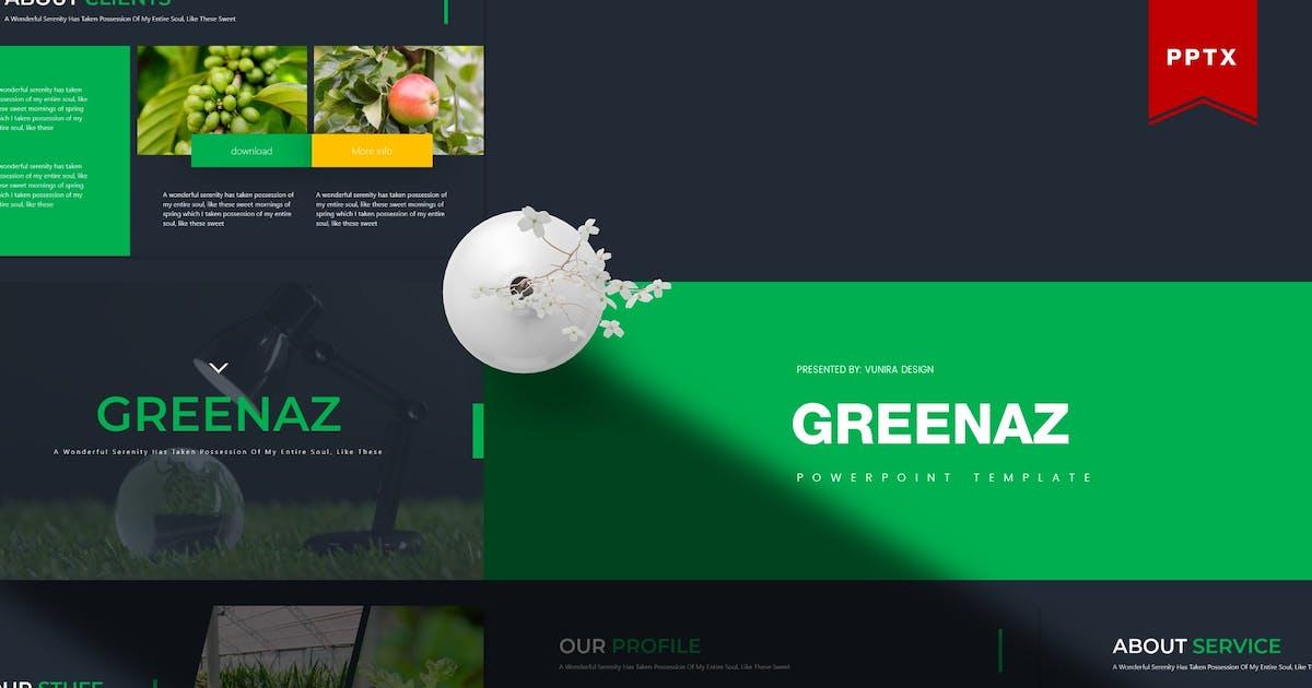 Download Greenaz | Powerpoint Template by gilang_senzana