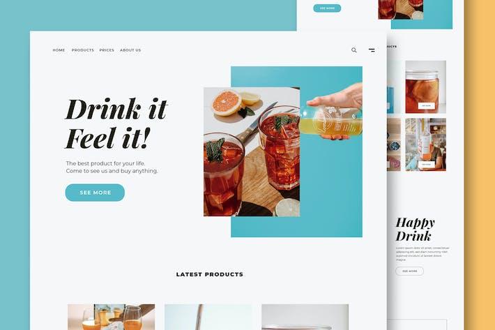Getränke & Essen - Website