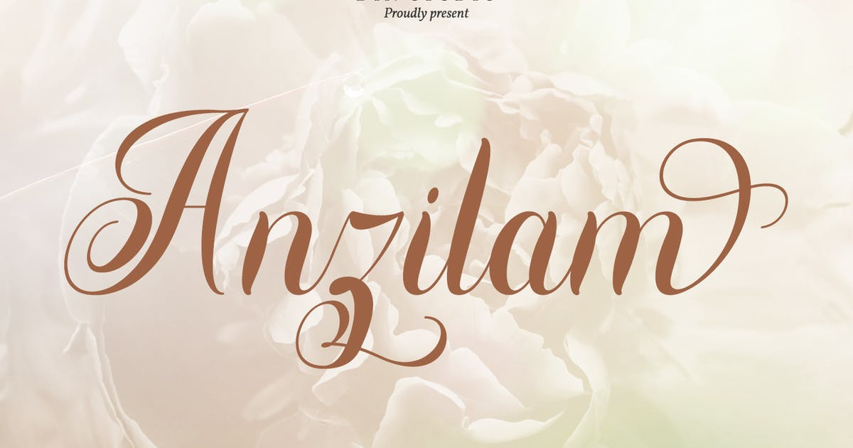 Download Anzilam-Elegant Calligraphy Font by Din-Studio