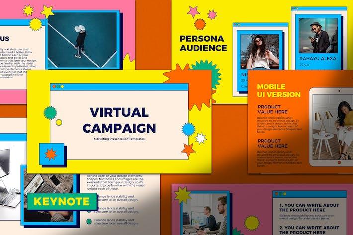 Thumbnail for Keynote Präsentation für virtuelle Kampagnen