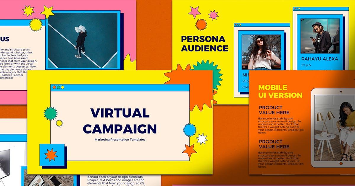 Download Virtual Campaign Keynote Presentation by InvasiStudio