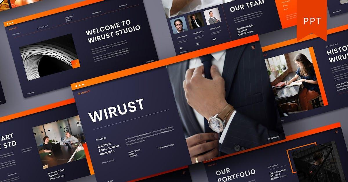 Download Wirust – Business PowerPoint Template by DensCreativeStudio