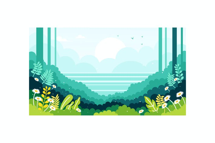 Thumbnail for Ocean view on the edge of the forest