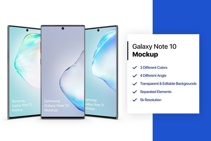 Thumbnail for Samsung Galaxy Note 10 Mockup 1.0