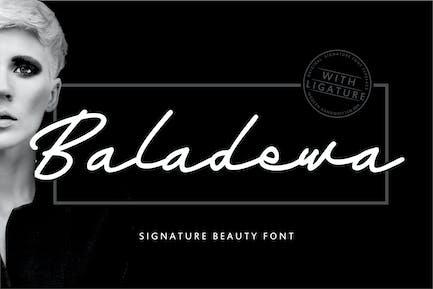 Baladewa | Signature Beauty Font