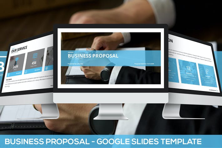 Thumbnail for Simply Business Proposal - Google Slides Template