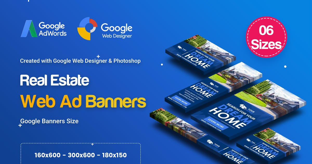 Download C30 - Real Estate Banners HTML5 Ad - GWD & PSD by iDoodle