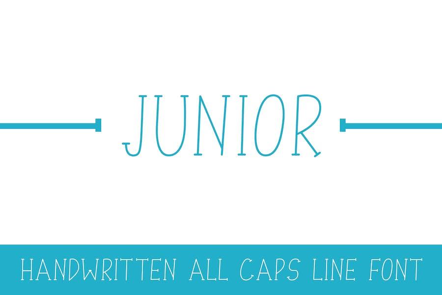 Junior - Line Font