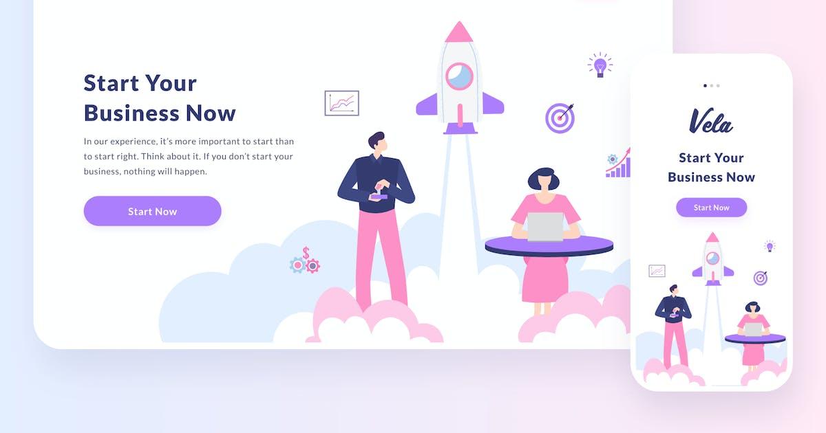 Download Startup illustration by buydesign