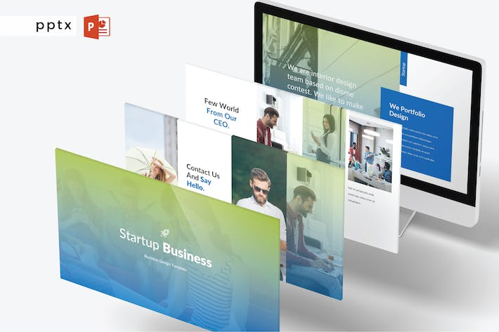 Thumbnail for STARTUP BUSINESS - Powerpoint V422