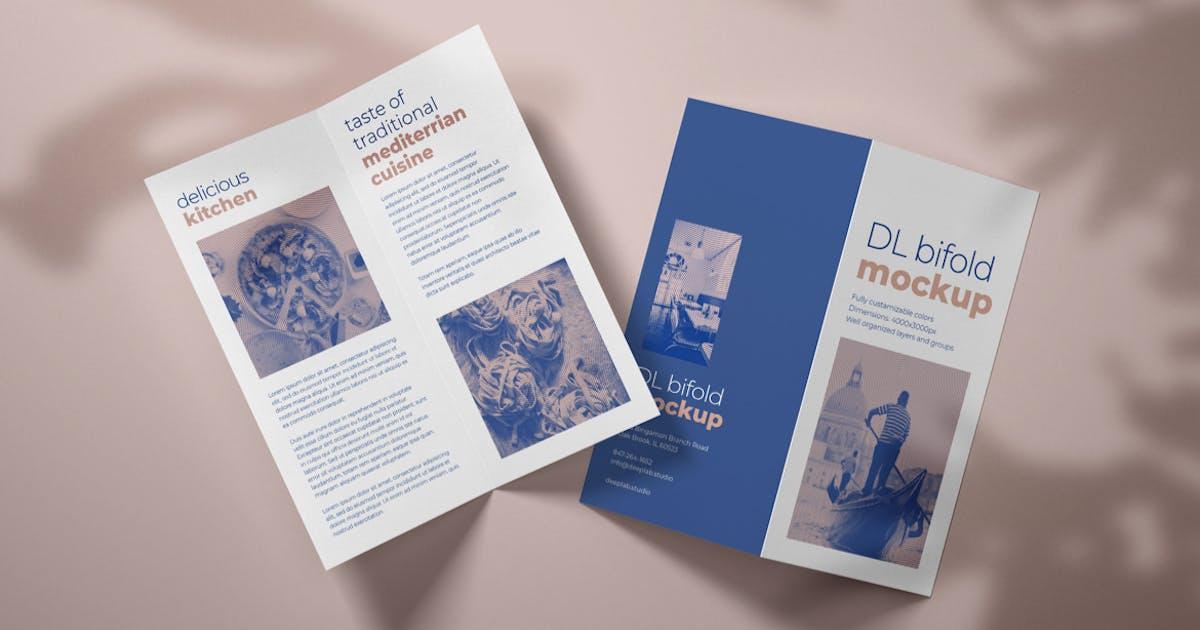 Download DL Bifold Brochure Mockup by deeplabstudio